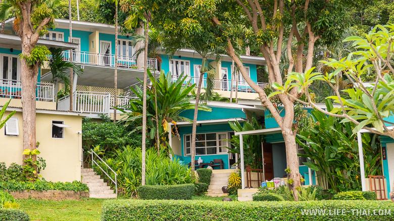 Отель Samed Cliff Resort на северном пляже ко Самета