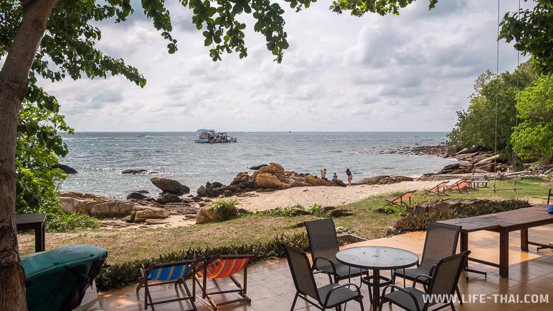 Пляж отеля Larissa ko Samet Resort