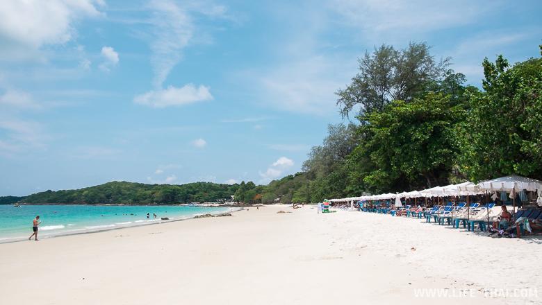 Все пляжи ко Самета - пляж для отдыха Джепс бич