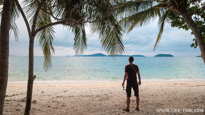 Секретный пляж на ко Чанге