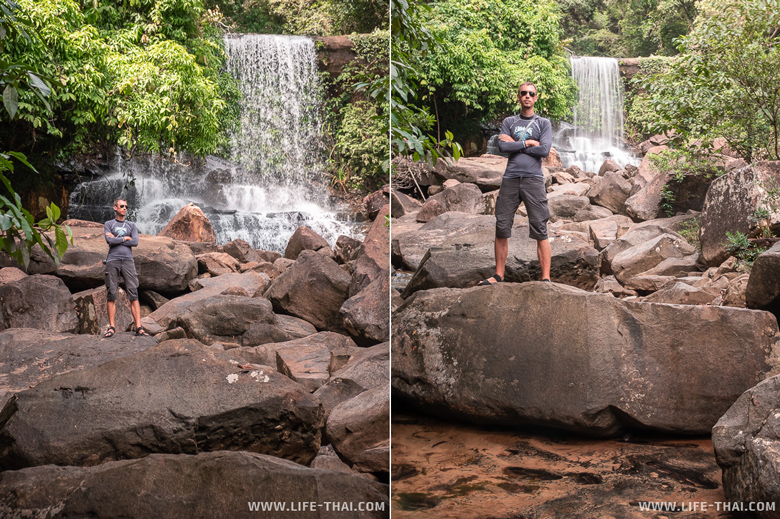 Водопад Huang Nam Kaew на ко Куде