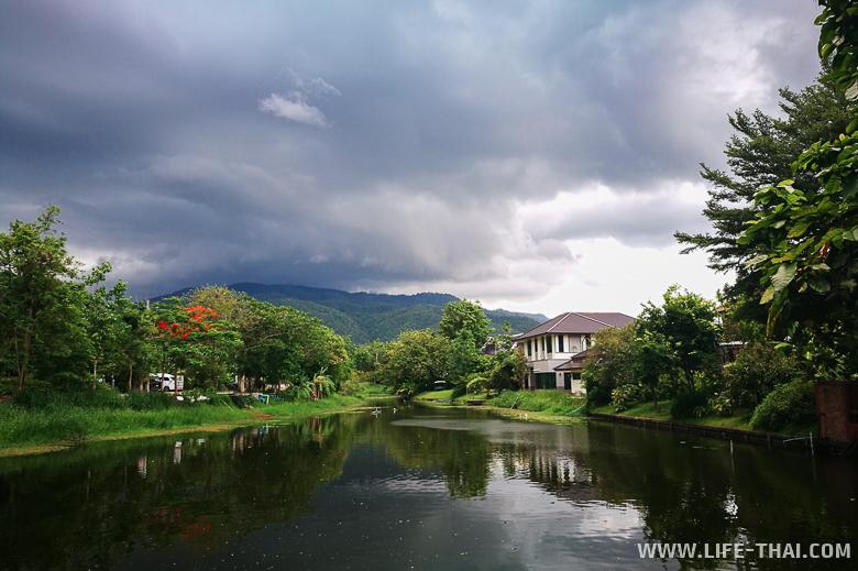 Последний закат мая в Чиангмае