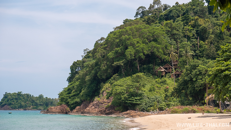 Пляж Лонли бич на ко Чанге
