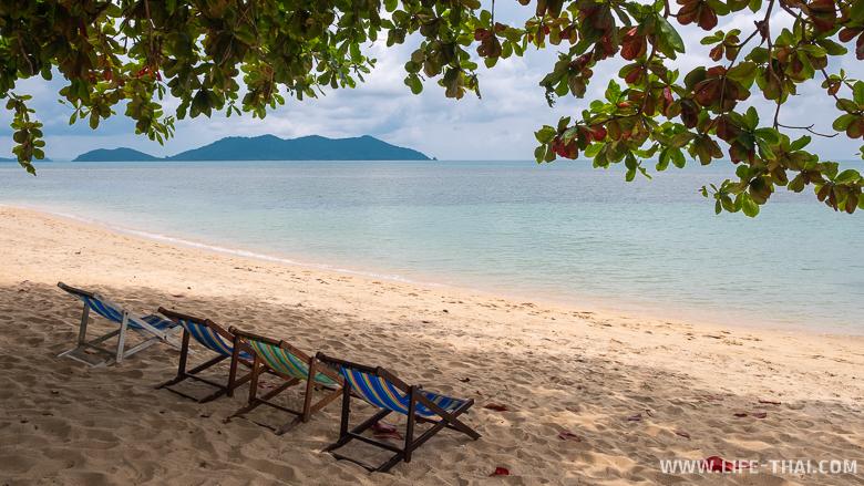Пляжи Банг бао на острове Чанг