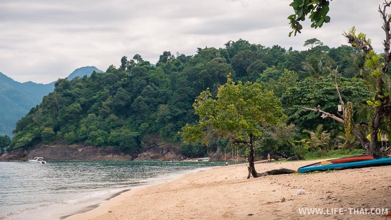 Пляж Кай Бае на ко Чанге. Наш отзыв об отдыхе