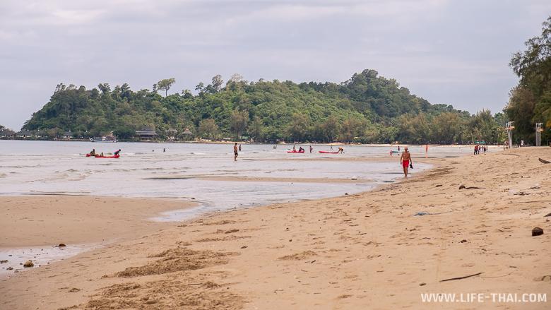 Пляж Чай Чет - лучший пляж на ко Чанге для отдыха с детьми