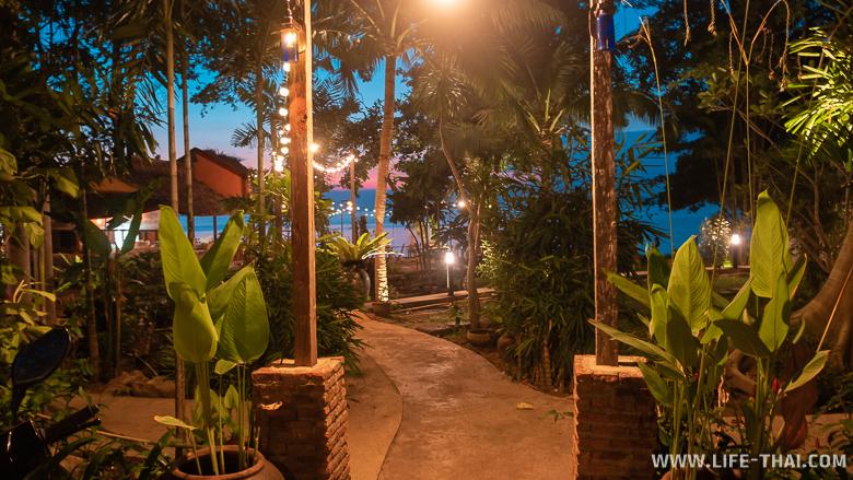 Отель на ко Чанге - бунгало на берегу. Наш отзыв