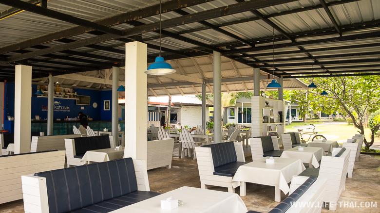 Отель с рестораном на пляже на ко Маке