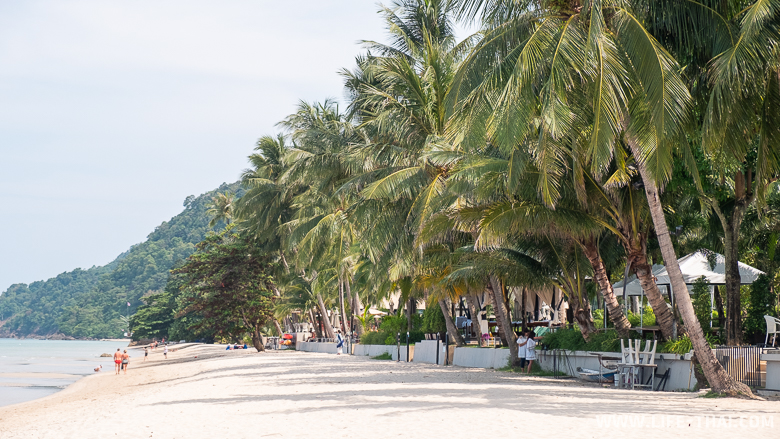 Фото и обзор пляжа White Sands Beach на ко Чанге