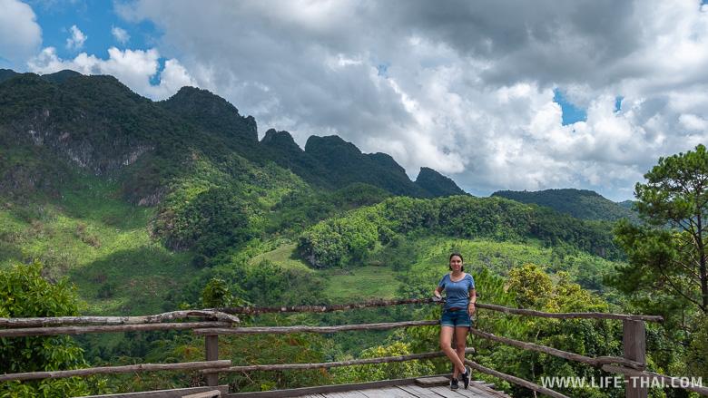 Чианг Дао - живописный городок на севере Таиланда
