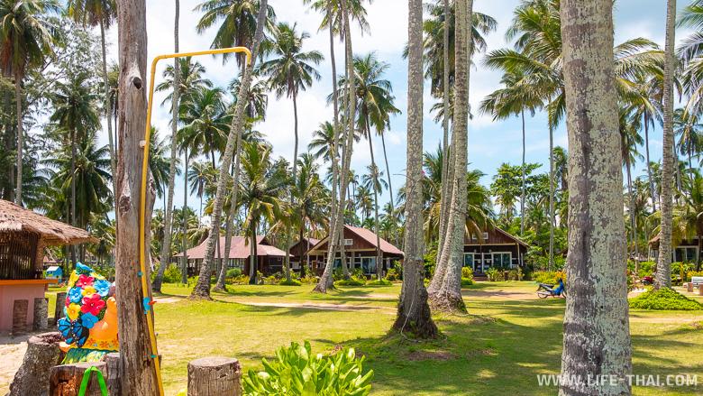 Отель Ко Куд Кабана на лучшем пляже острова