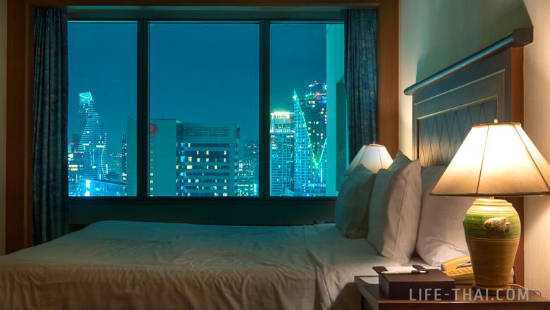Наш номер в отеле Baiyoke Sky Hotel Bangkok