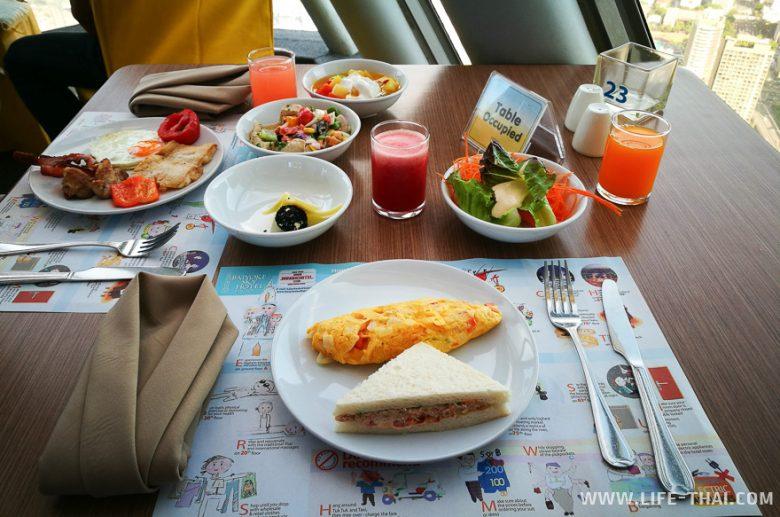 Завтрак в Байок Скай Хотел