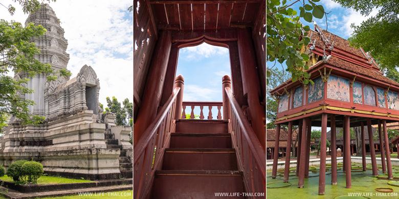 Достопримечательности в парке Ancient City, Mueang Boran в Бангкоке