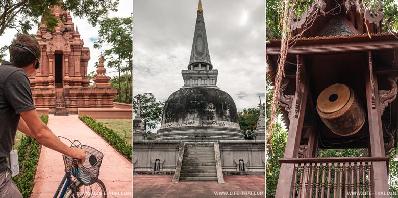 Игорь в парке Древний город в Бангкоке