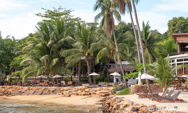 Хороший отель на ко Куде на пляже Сиам