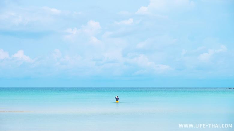 Пляж Сиам бич - один из лучших пляжей на ко Куде