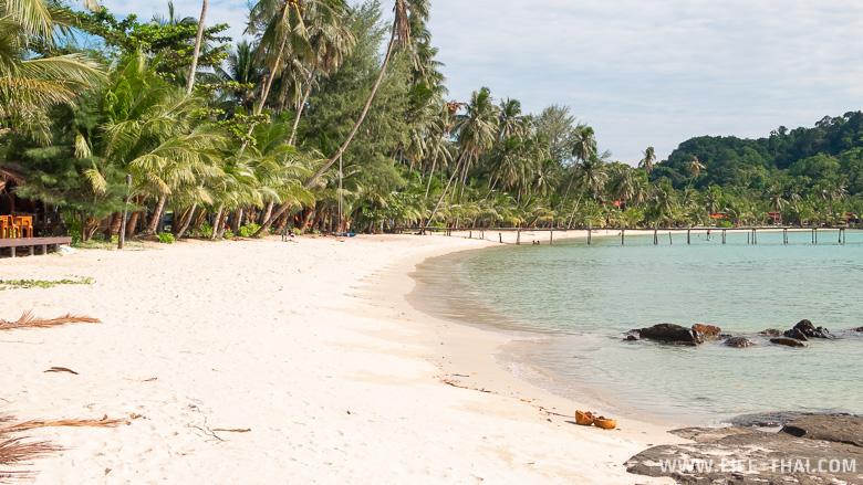 Один из лучших пляжей ко Куда - Саям бич