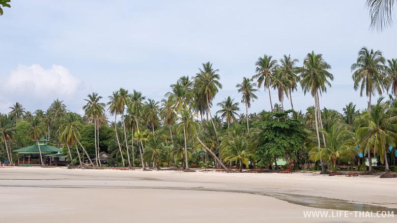 Пляжи острова Куд