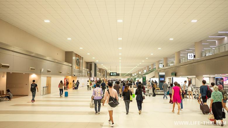 Схема аэропорта Дон Мыанг в Бангкоке