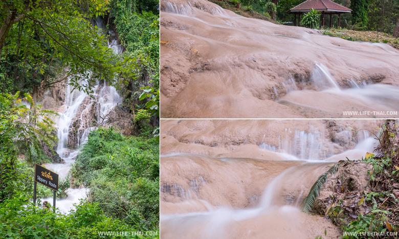 Водопад Than Tong - достопримечательности по дороге в Пхаяо