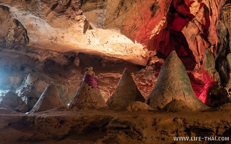 Башенки в пещере