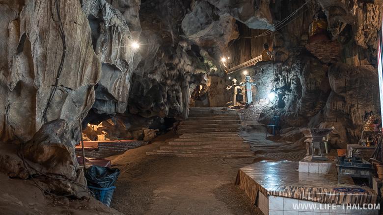 Внутри пещеры Чиангдао