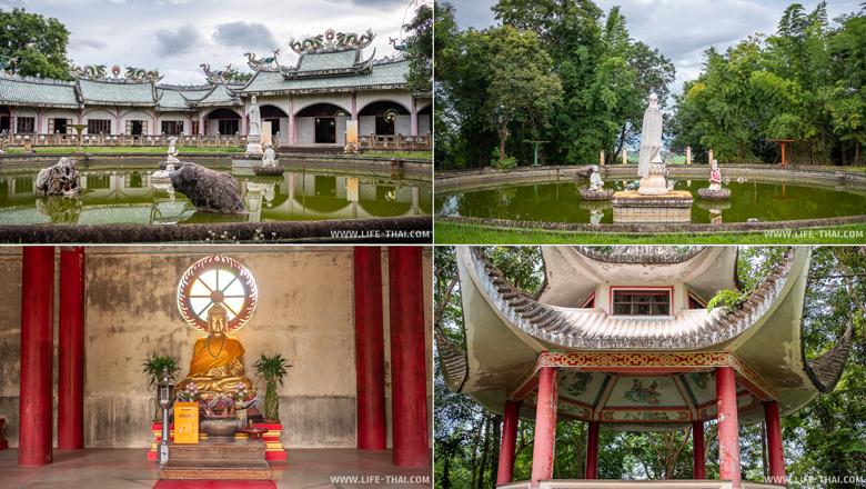Заброшенный китайский храм в Пхаяо
