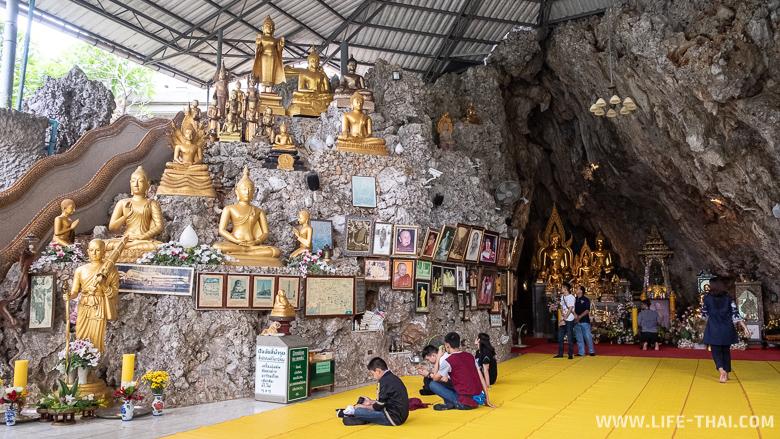 Достопримечательности Чианг Дао - пещерный храм