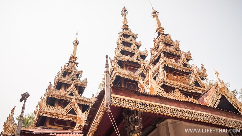Бирманский храм в Лампанге - одно из интересных мест