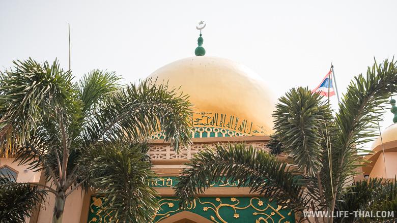 Что посмотреть в Лампанге - мечеть Alfalah