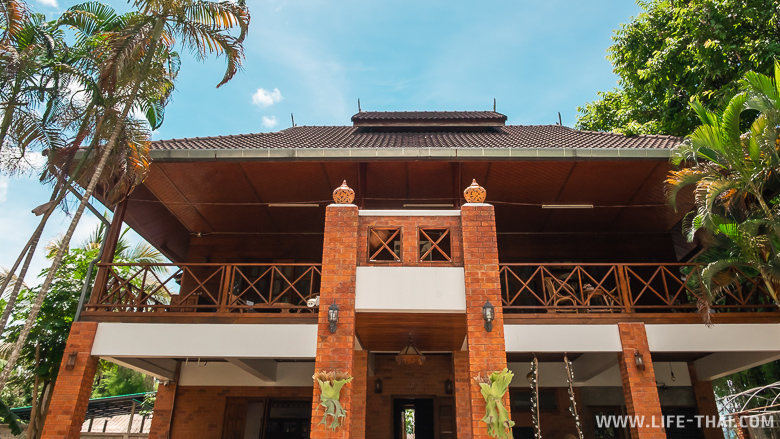 Гестхауз Ashi в Чианг Дао снаружи