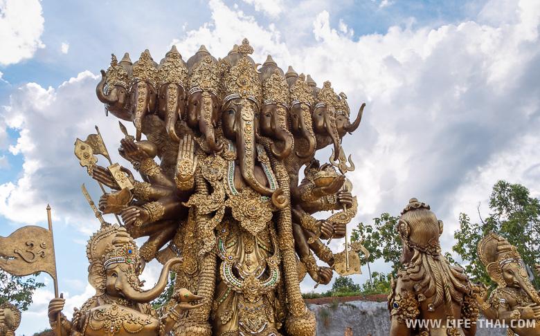 Огромная статуя Ганеши, Таиланд