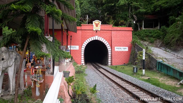 Самый длинный тоннель в Таиланде Кхун Тан