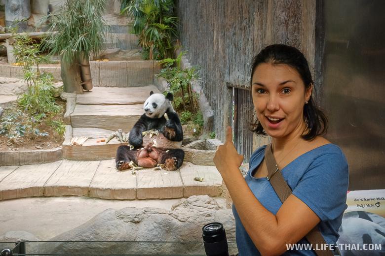 Я в зоопарке в Чиангмае