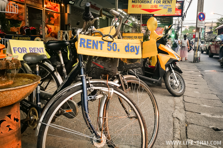 Аренда авто и мотобайка в Чиангмае