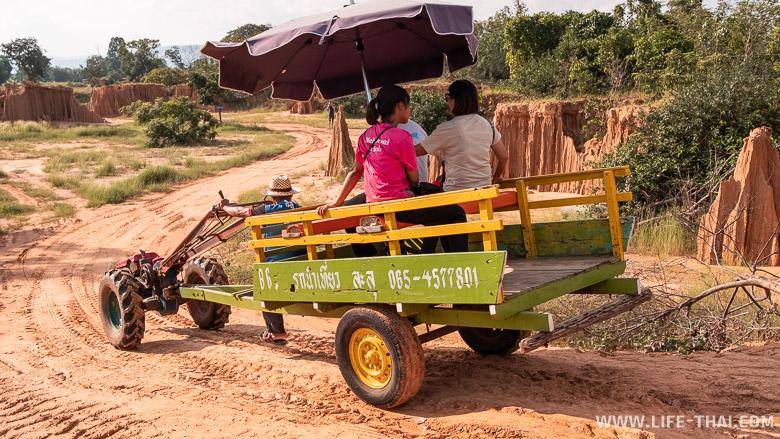 Транспорт в каньоне Лалу