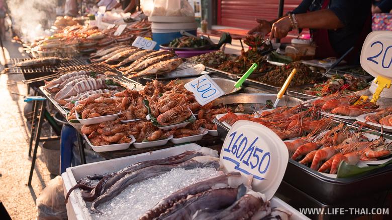 Цены на еду в Чиангмае