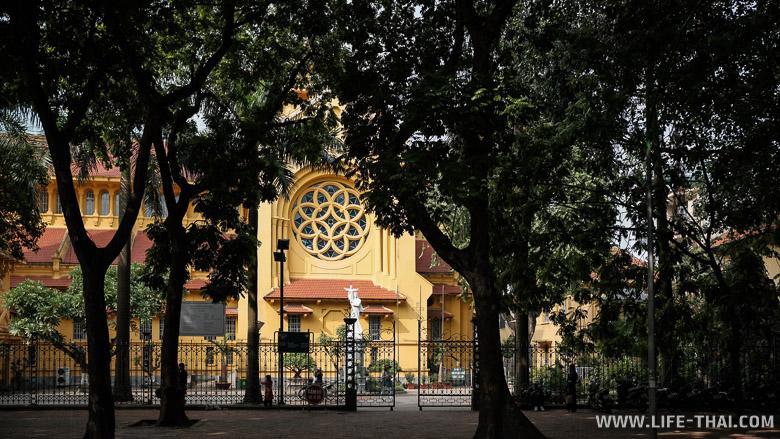 Католическая церковь в Ханое - что посмотреть в городе