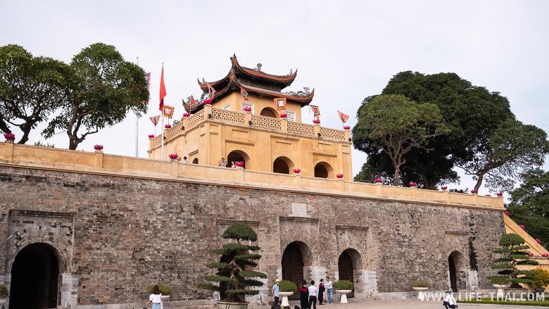 Императорская цитадель - место, которое обязательно стоит посмотреть в Ханое