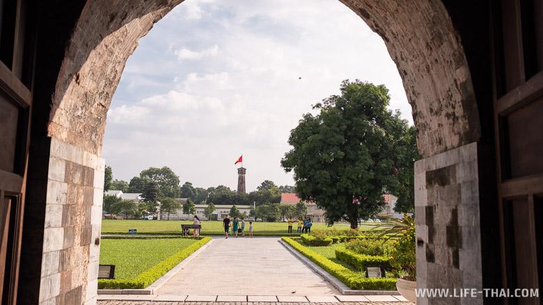Что посмотреть в Ханое - императорская цитадель