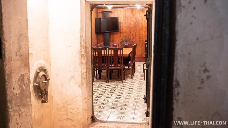 Военный бункер - интересные места Ханоя