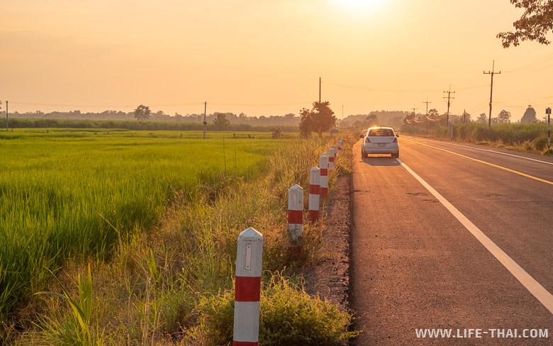 Путешествие в Бурирам на машине