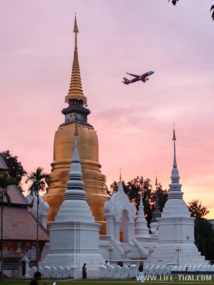 Закат в Чиангмае