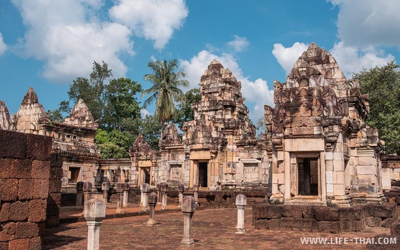 Кхмерские храмы в Таиланде