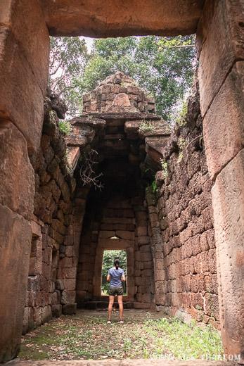 Кхмерский храм Prasat Ta Moan