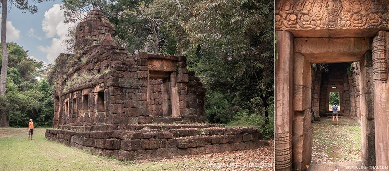 Кхмерские храмы в провинции Сурин