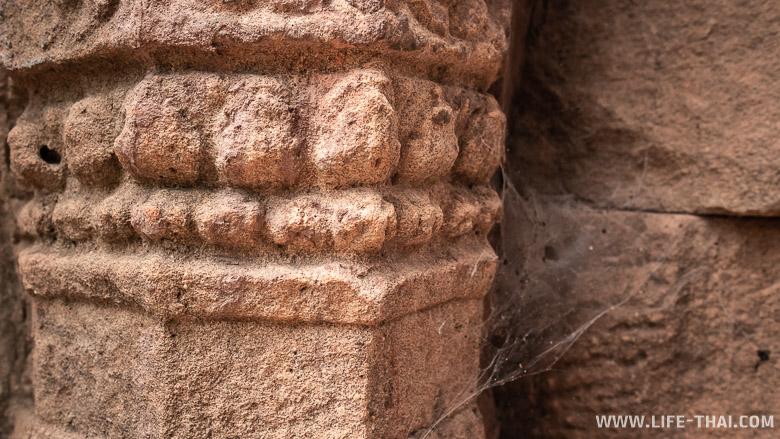 Кхмерский храм Prasat Ta Moan в провинции Сурин. Достопримечательности Таиланда