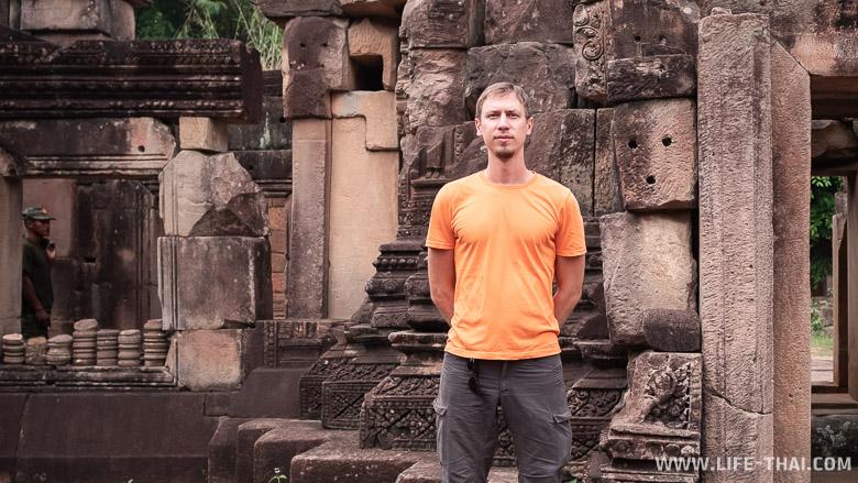 Храм Прасат Та Муан Тхом в Таиланде