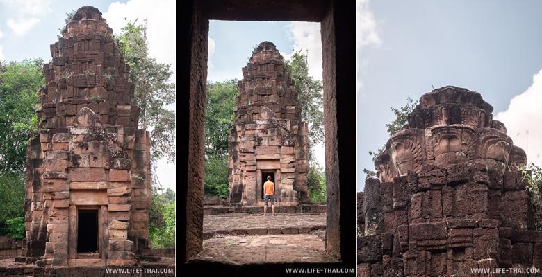 Кхмерский храм Prasat Ta Muan Tot в Сурине